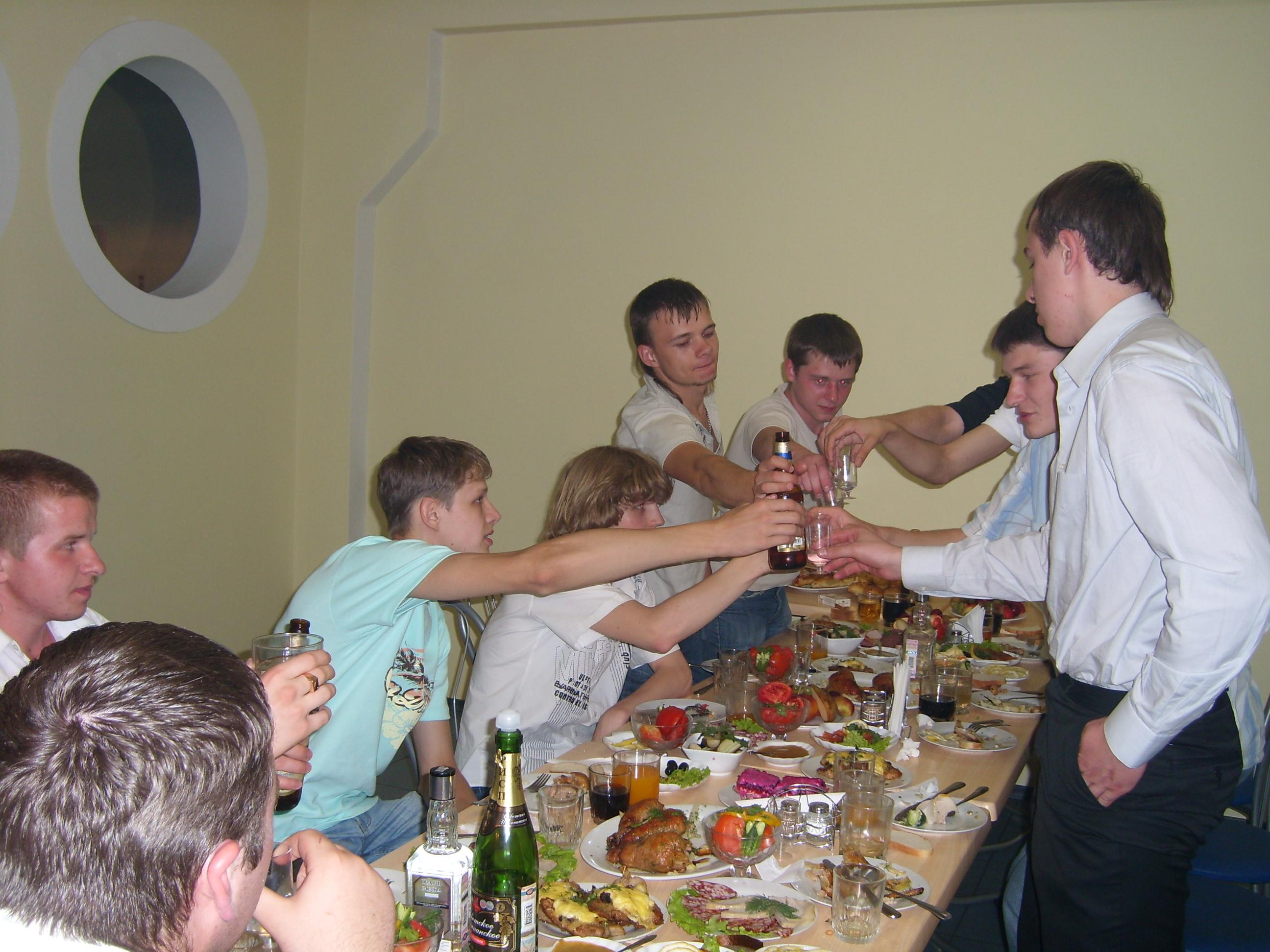 Шуточные тосты на выпускном вечере